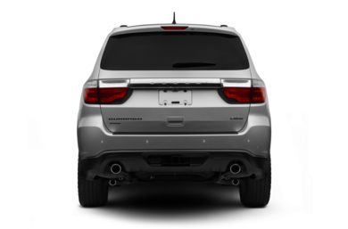 Rear Profile  2011 Dodge Durango