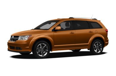 3/4 Front Glamour 2011 Dodge Journey