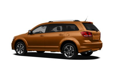 Surround 3/4 Rear - Drivers Side  2011 Dodge Journey