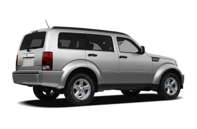 3/4 Rear Glamour  2011 Dodge Nitro