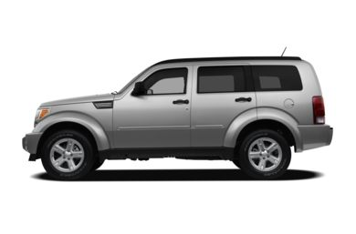 90 Degree Profile 2011 Dodge Nitro