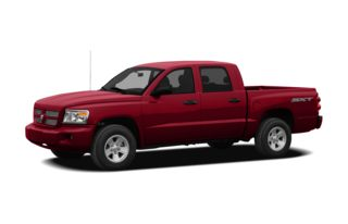 3/4 Front Glamour 2011 Dodge Dakota