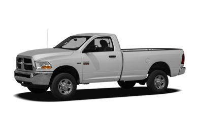 3/4 Front Glamour 2011 Dodge Ram 2500