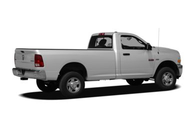 3/4 Rear Glamour  2011 Dodge Ram 2500