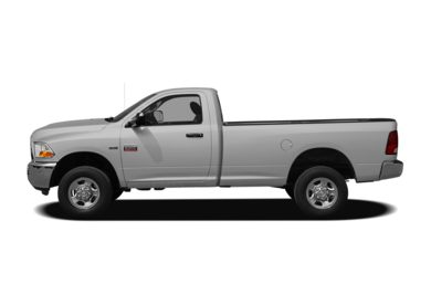 90 Degree Profile 2011 Dodge Ram 2500