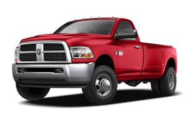 3/4 Front Glamour 2011 Dodge Ram 3500
