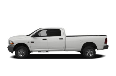 90 Degree Profile 2011 Dodge Ram 3500