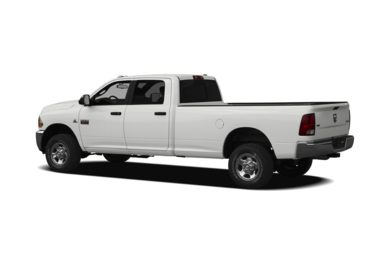 Surround 3/4 Rear - Drivers Side  2011 Dodge Ram 3500