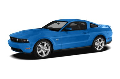 3/4 Front Glamour 2011 Ford Mustang