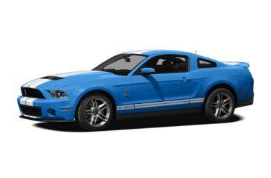 3/4 Front Glamour 2011 Ford Shelby GT500