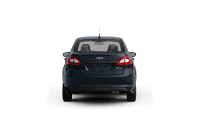 Surround Rear Profile 2011 Ford Fiesta