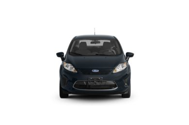 Surround Front Profile  2011 Ford Fiesta