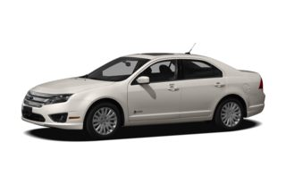 3/4 Front Glamour 2011 Ford Fusion Hybrid