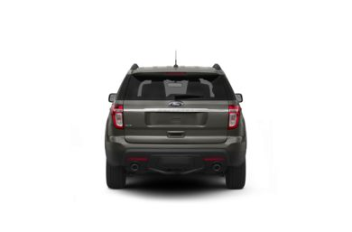Surround Rear Profile 2011 Ford Explorer