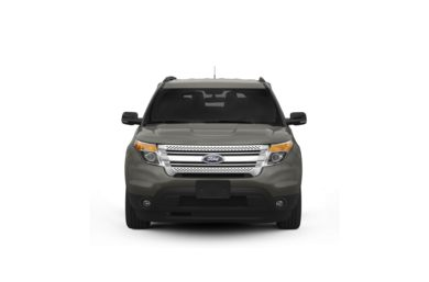 Surround Front Profile  2011 Ford Explorer