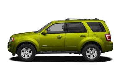 90 Degree Profile 2011 Ford Escape Hybrid