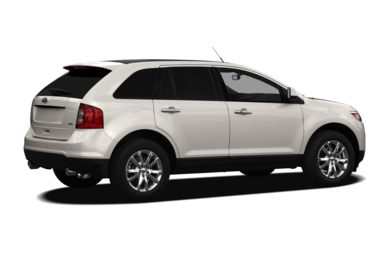 3/4 Rear Glamour  2011 Ford Edge