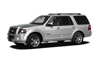 3/4 Front Glamour 2011 Ford Expedition