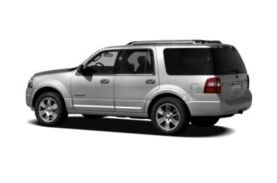 Surround 3/4 Rear - Drivers Side  2011 Ford Expedition