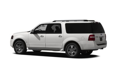 Surround 3/4 Rear - Drivers Side  2011 Ford Expedition EL
