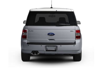 Rear Profile  2011 Ford Flex