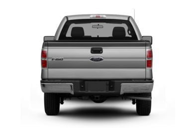 Rear Profile  2011 Ford F-150