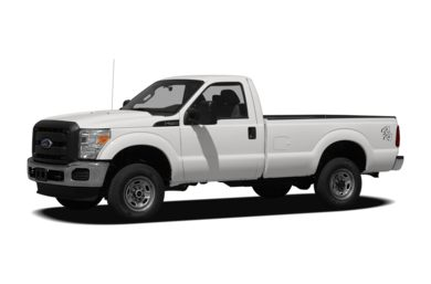 3/4 Front Glamour 2011 Ford F-250