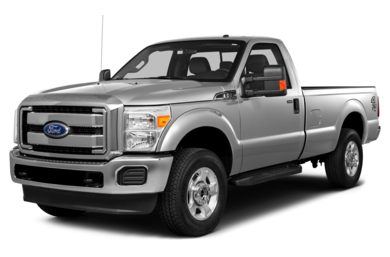 3/4 Front Glamour 2015 Ford F-250