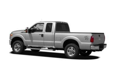Surround 3/4 Rear - Drivers Side  2011 Ford F-250