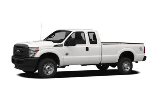 3/4 Front Glamour 2011 Ford F-350