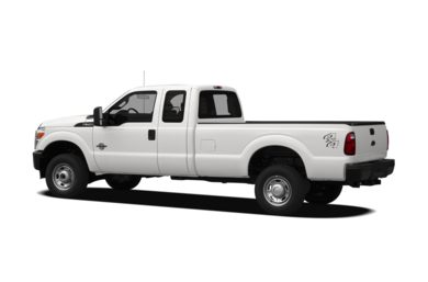 Surround 3/4 Rear - Drivers Side  2011 Ford F-350
