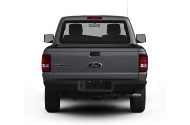 Rear Profile  2011 Ford Ranger