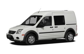 3/4 Front Glamour 2011 Ford Transit Connect