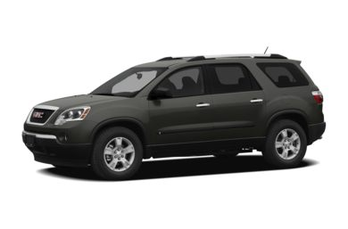 3/4 Front Glamour 2011 GMC Acadia