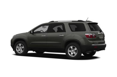 Surround 3/4 Rear - Drivers Side  2011 GMC Acadia
