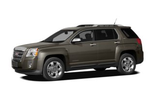 3/4 Front Glamour 2011 GMC Terrain