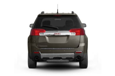 Rear Profile  2011 GMC Terrain