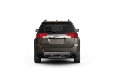 Surround Rear Profile 2011 GMC Terrain