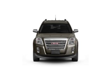 Surround Front Profile  2011 GMC Terrain