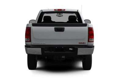 Rear Profile  2011 GMC Sierra 2500HD