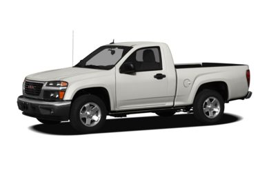 3/4 Front Glamour 2011 GMC Canyon