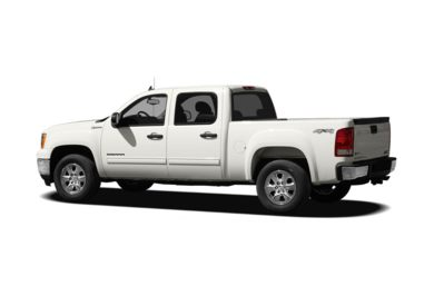 Surround 3/4 Rear - Drivers Side  2011 GMC Sierra 1500 Hybrid