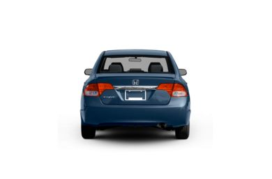 Surround Rear Profile 2011 Honda Civic