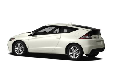 Surround 3/4 Rear - Drivers Side  2011 Honda CR-Z