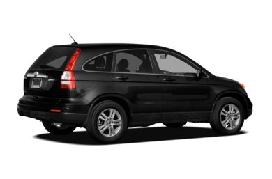 3/4 Rear Glamour  2011 Honda CR-V