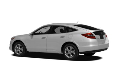 Surround 3/4 Rear - Drivers Side  2011 Honda Crosstour