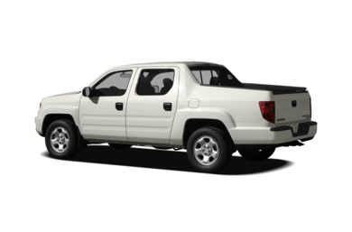 Surround 3/4 Rear - Drivers Side  2011 Honda Ridgeline