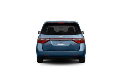 Surround Rear Profile 2011 Honda Odyssey