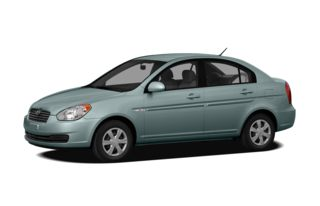 3/4 Front Glamour 2011 Hyundai Accent