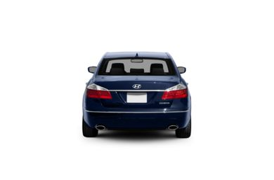 Surround Rear Profile 2011 Hyundai Genesis Sedan